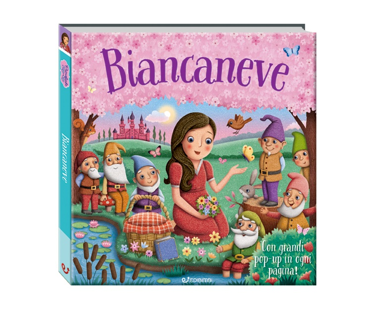 LIBRO PRIME FIABE POP-UP BIANCANEVE