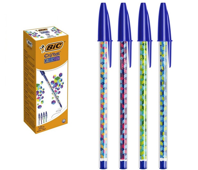 SFERA PENNA BIC COLLECTION BLU