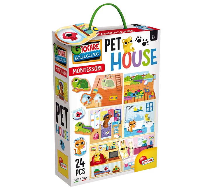 LISCIANI MONTESSORI PET HOUSE