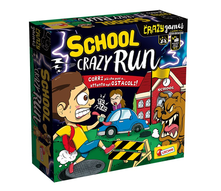 LISCIANI CRAZY SCHOOL CRAZY RUN