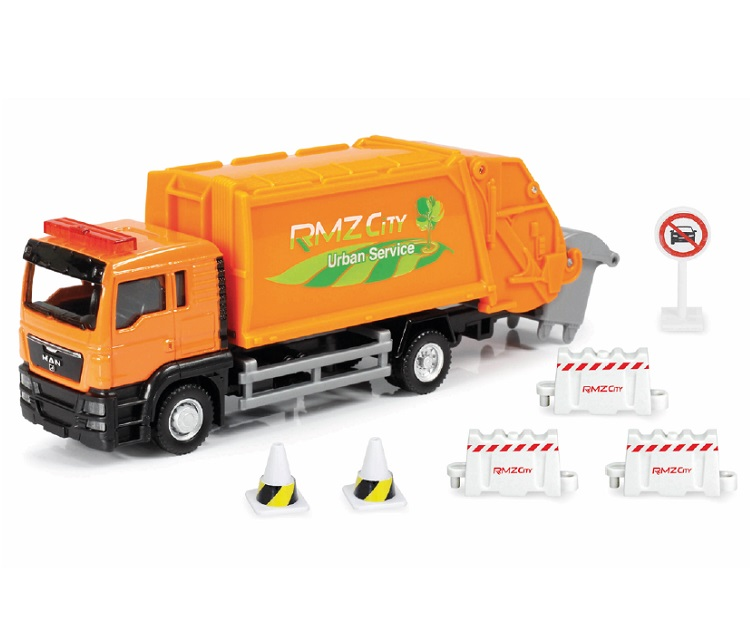 CAMION METALLO RIFIUTI PLAY SET RMZ CITY SCALA 1:64