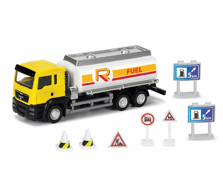 CAMION METALLO CISTERNA PLAY SET RMZ CITY SCALA 1:64