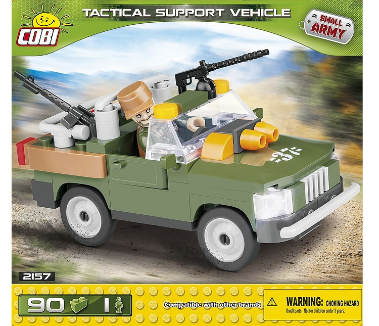 COSTRUZIONI COBI TACTIC AL SUPPORT VEHICLE 2157