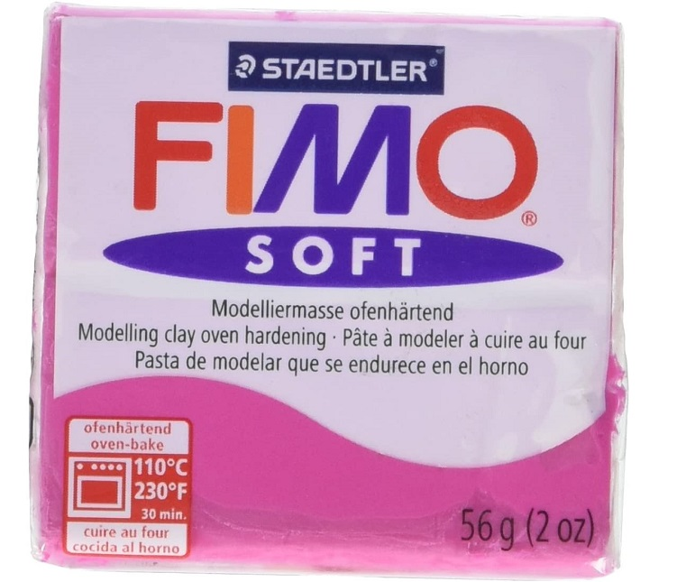 PASTA PER MODELLARE FIMO SOFT LAMPONE N.22 - STAEDTLER