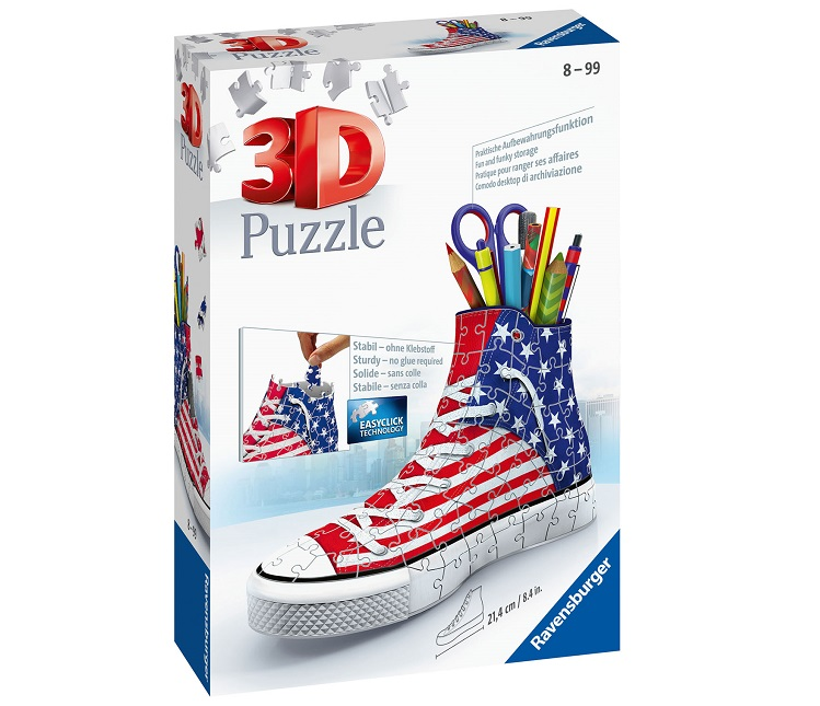 RAVENSBURGER PUZZLE 3D SNEAKERS AMERICAN STYLE
