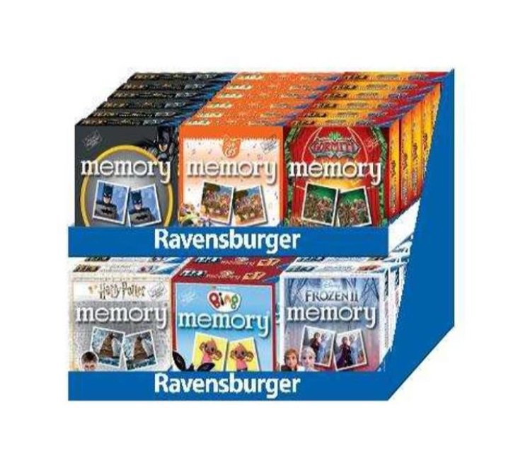 RAVENSBURGER MINI MEMORY PERSONAGGI ASSORTITI