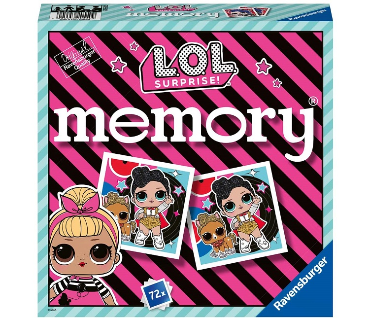 RAVENSBURGER MINI MEMORY L.O.L. SURPRISE