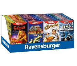 RAVENSBURGER TRAVEL GAME SCATOLE ASSORTITE