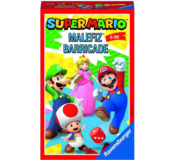 RAVENSBURGER TRAVEL GAME SUPER MARIO MALEFITZ