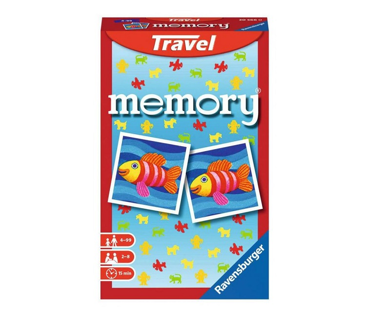 RAVENSBURGER TRAVEL GAME MEMORY