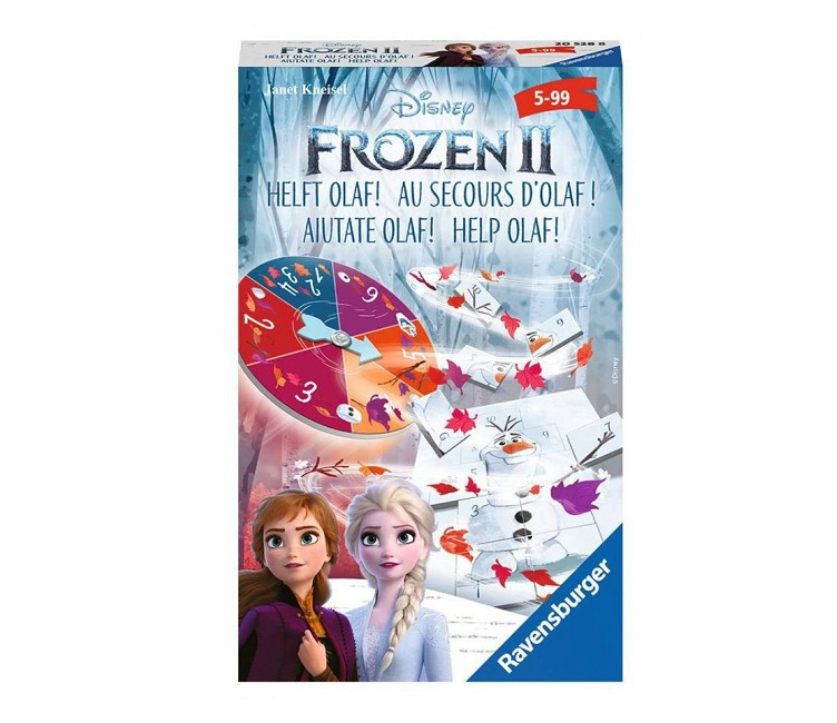 RAVENSBURGER TRAVEL GAME FROZEN 2